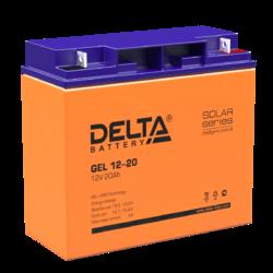 Аккумулятор Delta GEL 12-20 (12V / 20Ah)