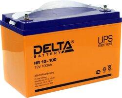 Аккумулятор Delta HR 12-100 (12V / 100Ah)