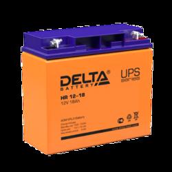 Аккумулятор Delta HR 12-18 (12V / 18Ah)