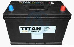 Аккумулятор автомобильный TITAN ASIA STANDART 90ah 6СТ-90.0 VL B01