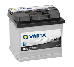 VARTA Black dynamic-44Ач (B20) 44А/ч 400А