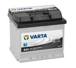 Аккумулятор автомобильный Varta black dynamic B20 (545413040)