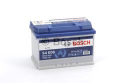 EFB Аккумулятор автомобильный Bosch S4 e08 70 а/ч 0092S4E080