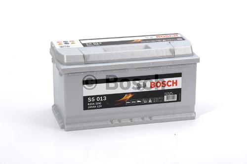 BOSCH S5 Silver Plus (S50 130)  100А/ч  830А
