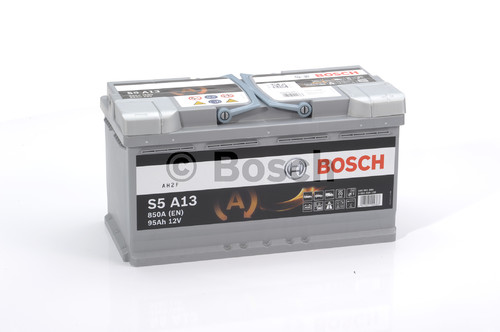 BOSCH S5 AGM (S5A 130)  95А/ч  850А