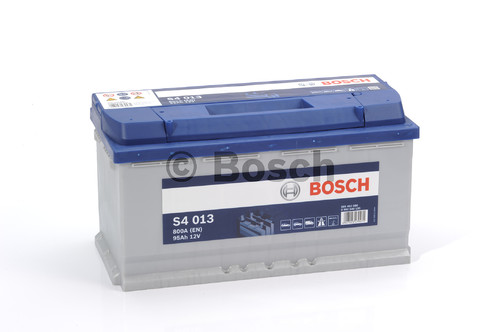 BOSCH S4 Silver (S40 130)  95А/ч  800А