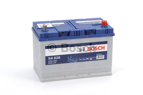 BOSCH S4 Silver (S40 280)  95А/ч  830А