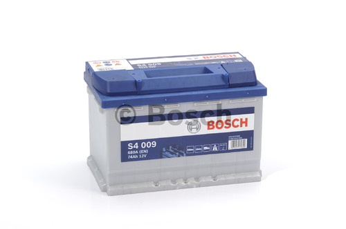 BOSCH S4 Silver (S40 090)  74А/ч  680А