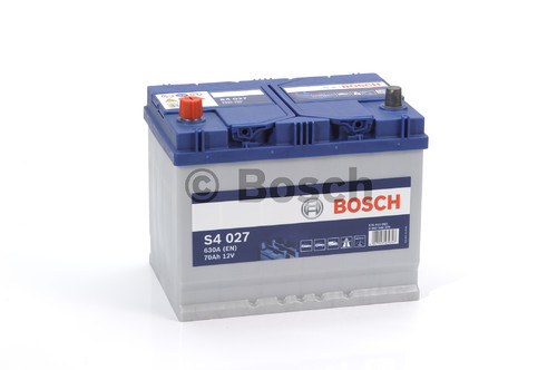 BOSCH S4 Silver (S40 270)  70А/ч  630А