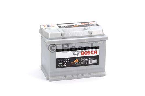 BOSCH S5 Silver Plus (S50 050)  63А/ч  610А