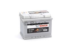 BOSCH S5 Silver Plus (S50 060)  63А/ч  610А