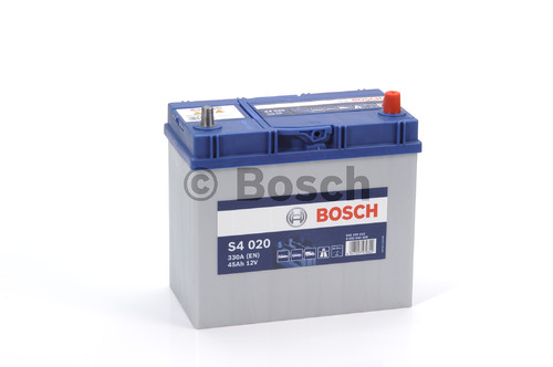 BOSCH S4 Silver (S40 200)  45А/ч  330А