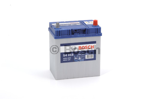 BOSCH S4 Silver (S40 180)  40А/ч  330А