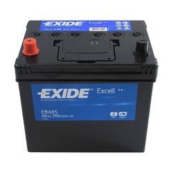 Аккумулятор Exide EB605, 60 А/ч 390А