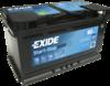 Аккумулятор Exide EK800, 80 А/ч 800А