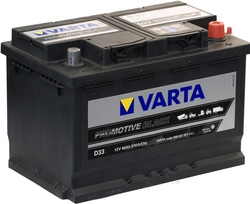 VARTA Promotive Black -66Ач (D33)  66А/ч  510А