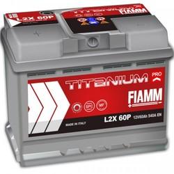 Аккумулятор автомобильный Fiamm TITANIUM PRO L2X60P