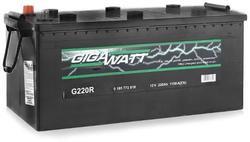 Аккумулятор грузовой Gigawatt G220R 220А/ч 1150A