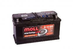 Аккумулятор автомобильный MOLL AGM 95Ah 850A