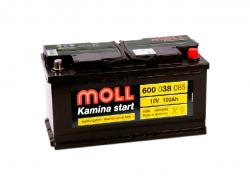 Аккумулятор автомобильный MOLL Kamina 100Ah 850А