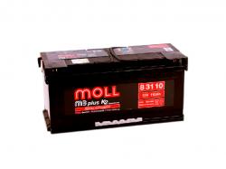 Аккумулятор автомобильный MOLL X-TRA charge 110Ah ОП 900A