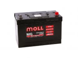 Аккумулятор автомобильный MOLL MG 110Ah 835A Asia (нижнее крепление)