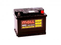 Аккумулятор автомобильный MOLL MG 60Ah 540A