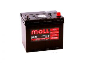 Аккумулятор автомобильный MOLL MG 66Ah 575A Asia (нижнее крепление)