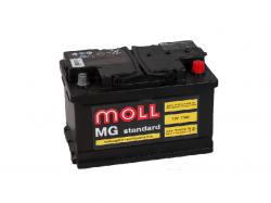 Аккумулятор автомобильный MOLL MG 75Ah 720A низкий