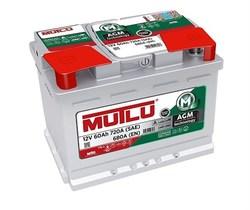 Аккумулятор автомобильный Mutlu 60 а/ч AGM L2.60.068.A