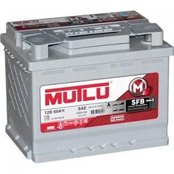 Аккумулятор Mutlu 60 а/ч, L2.60.054.A
