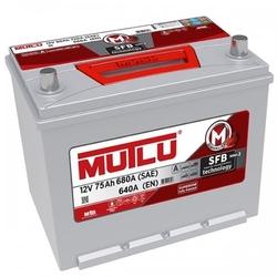 Аккумулятор автомобильный Mutlu 75 а/ч D26.75.064.D