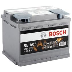 AGM Аккумулятор автомобильный Bosch S5 a05 60 а/ч 0092s5a050