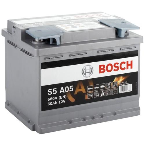 BOSCH S5 AGM (S5A 050)  60А/ч  680А START-STOP