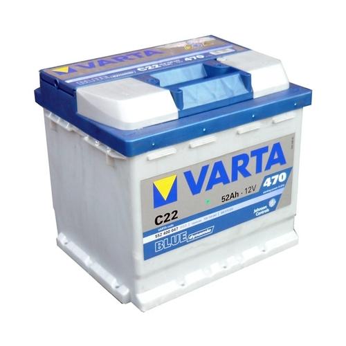 VARTA Blue dynamic-52Ач (C22) 52А/ч 470А