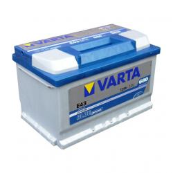 VARTA Blue dynamic -72Ач (E43)  72А/ч  680А