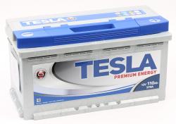 Аккумулятор автомобильный TESLA PREMIUM ENERGY 110 Ah 970А