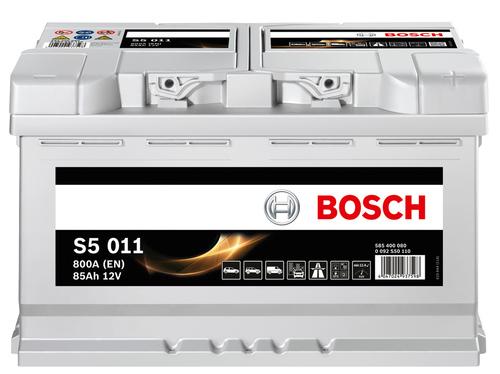 BOSCH S5 (S50 110) 85 А/ч 800 А