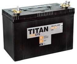 Аккумулятор автомобильный TITAN ASIA EFB 100ah 6СТ-100.0 VL B00