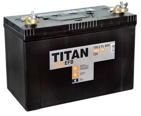 Аккумулятор автомобильный TITAN ASIA EFB 100ah 6СТ-100.0 VL B01