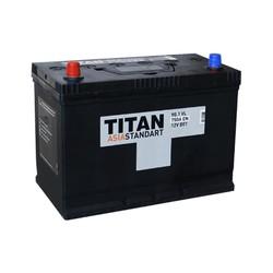 Аккумулятор автомобильный TITAN ASIA STANDART 90ah 6СТ-90.1 VL B01