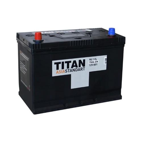 Аккумулятор TITAN ASIA STANDART 90ah, 6СТ-90.1 VL B01