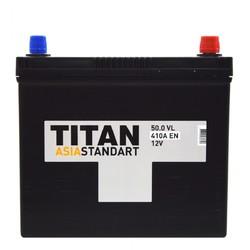 Аккумулятор автомобильный TITAN ASIA STANDART 50ah 6СТ-50.0 VL B00