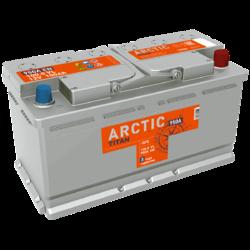 Аккумулятор автомобильный TITAN ARCTIC 100ah 6СТ-100.0 VL