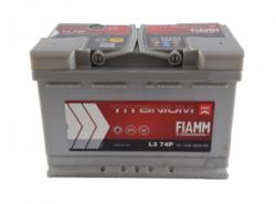 Аккумулятор автомобильный Fiamm TITANIUM PRO L374P