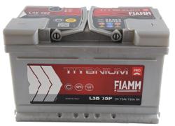 Аккумулятор автомобильный Fiamm TITANIUM PRO L3B75P