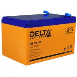 Аккумулятор Delta HR 12-15 (12V / 15Ah)