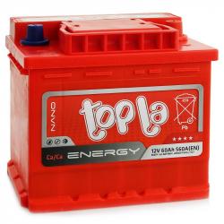 Аккумулятор TOPLA Energy 56265 E60X 60 ач 600a