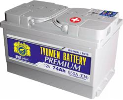 Аккумулятор автомобильный Тюмень PREMIUM 74 а/ч о.п. 6СТ-74