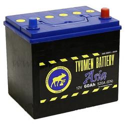 Аккумулятор автомобильный Тюмень ASIA 60 а/ч о.п. 6СТ-60